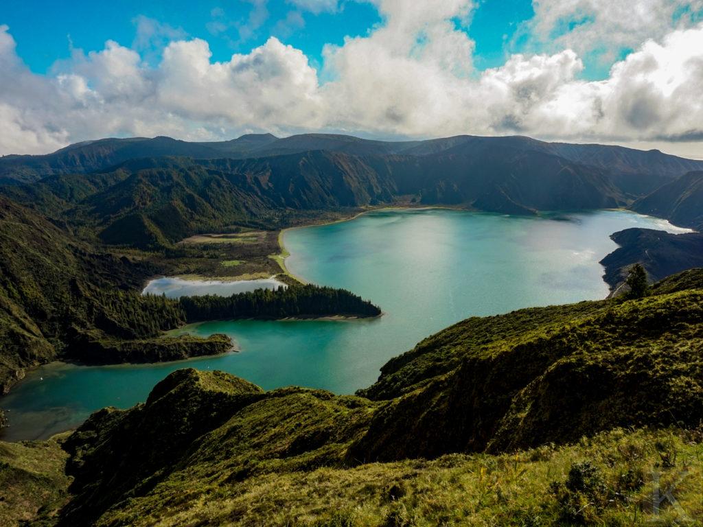 Przepiękne Azory. Ach - chciałoby sie tam być.