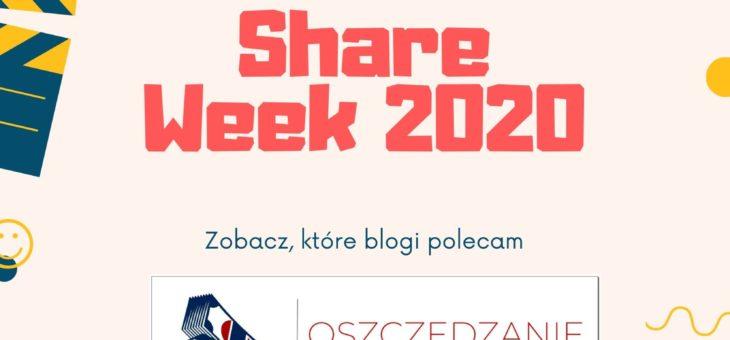 SHARE WEEK 2020